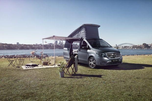 Bild von Mercedes-Benz Vans Australia und Airbnb ermöglichen eine besondere Camping-Erfahrung