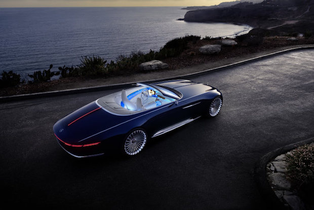 Photo of Luxuriöse Offenbarung: Vision Mercedes-Maybach 6 Cabriolet