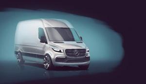 Mercedes-Benz Vans enthüllt erste Details zum neuen Sprinter