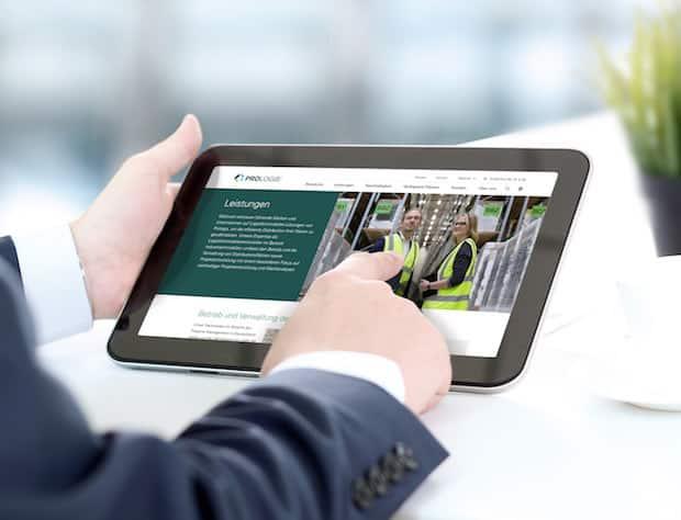 Prologis Deutschland mit neuer Website
