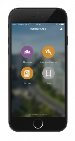 PROMOS consult entwickelt berlinovo-App