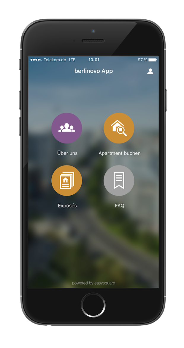 Bild von PROMOS consult entwickelt berlinovo-App