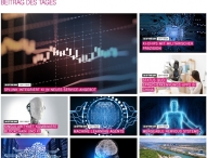 "Zone implementiert Newsblog ""AI News Of The Day"" für Telekom"