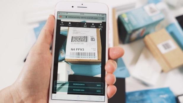 Scandit ermöglicht Barcode-Scanning im Web-Browser