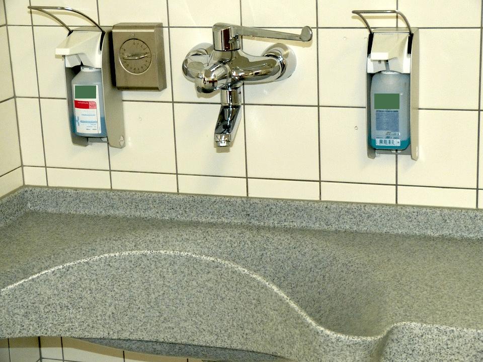 Hygiene am Arbeitsplatz - ist das A und O