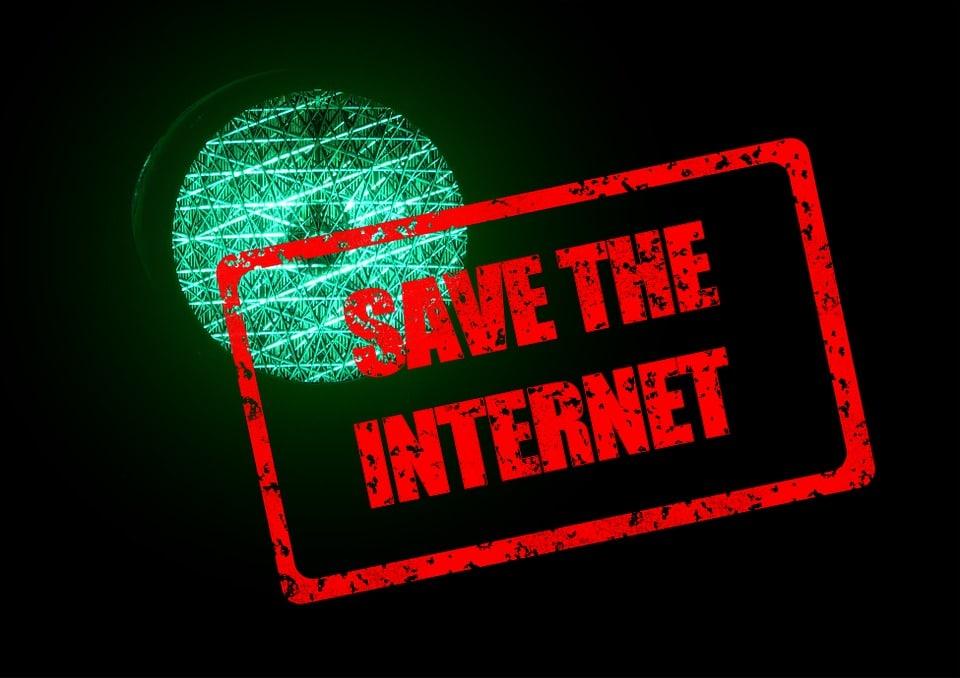 Netzneutralität im Internet ist in Gefahr.