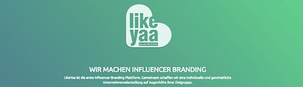 Influencer Branding: LikeYaa innoviert Influencer Relations