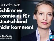 AfD – GroKo ist das Worst Case für Deutschland