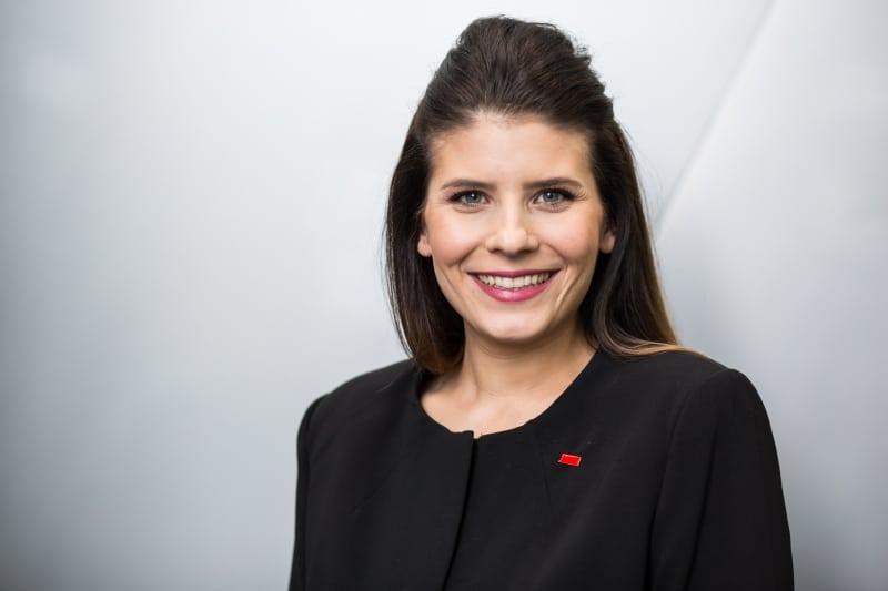 Sarna Röser ist neue Bundesvorsitzende der Jungen Unternehmer.