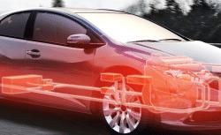 Mit Aluminium werden Bordnetze trotz immer mehr Ansprüche und Aufgaben im Auto leichter; Foto: Aptiv