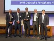 Nachhaltigkeitspreis für die Fertighäuser der DFH