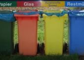 Mülltrennung im kleinen und großen Rahmen