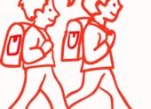 Tipps, wie Kinder zur Schule laufen können