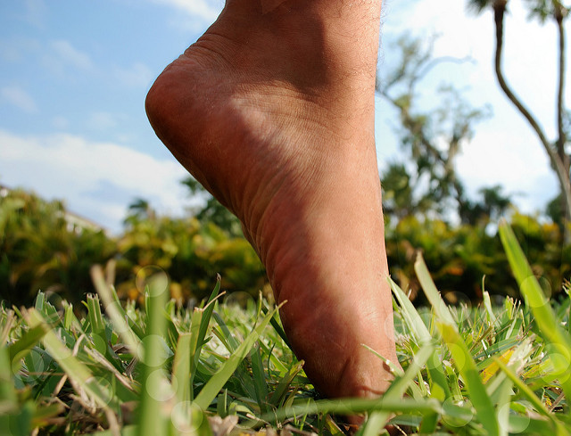 Bild von Was gegen schmerzende Füße im Büro hilft