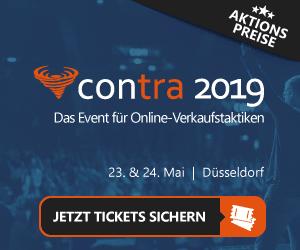 Günstige Tickets Contra 2019 Düsseldorf.