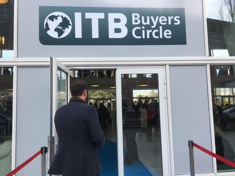 ITB Berlin Buyers Circle: Geschäfte mit und an den Reisen gehören natürlich traditionell zur Tourismus Börse.