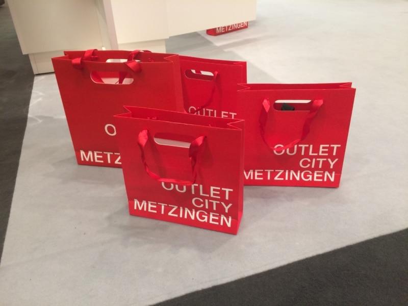 Wirtschaftsfaktor ITB Berlin: Auch deutsche Kurzziele, wie hier das Outlet City Metzingen präsentieren sich und ihr Shopping Erlebnis.