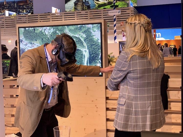 Bild von Virtual Reality ist die Zukunft