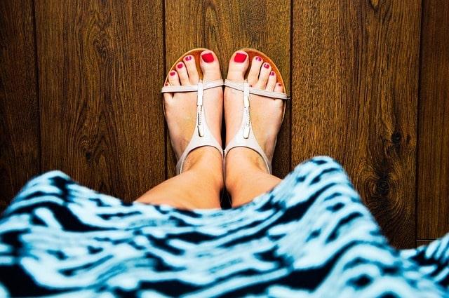 Bild von Heiße Füße – Die richtigen Schuhe, um den Sommer im Büro zu überstehen