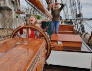 Segelschiff mit besonderem Ausbildungskonzept