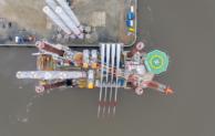"Offshore-Windpark ""EnBW Hohe See"" errichtet"