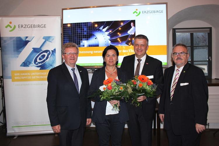 Bild von Drei neue Botschafter des Erzgebirges