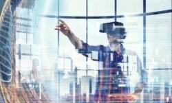 Mit der Virtual Reality Technologie wird eine virtuelle Welt erschaffen.
