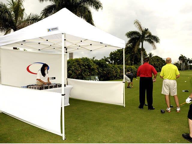 Photo of Faltpavillon für Golfspielen