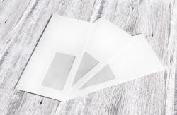 Der Briefumschlag wird gerne als Verpackungsmaterial für Gutscheine benutzt.
