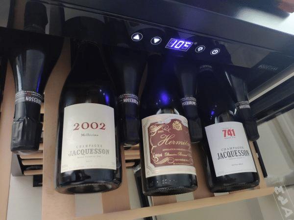 Bild von Weinkühlschrank für aromatischen Weingenuss – Kultur für Genießer