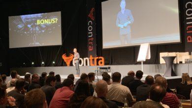 Dirk Kreuter - ein Top-Speaker auf dem Podium der Contra Konferenz.