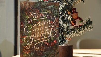 Weihnachtskarten kommen nicht aus der Mode