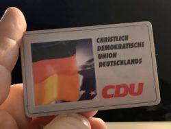 CDU Deutschland Mitgliederausweis