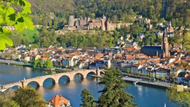 Viele geschäftlich Reisende nach Mannheim und Ludwigshafen übernachten in Heidelberg.